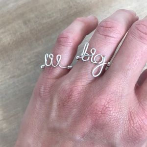 Jewelry - Big & Lil Adjustable Rings